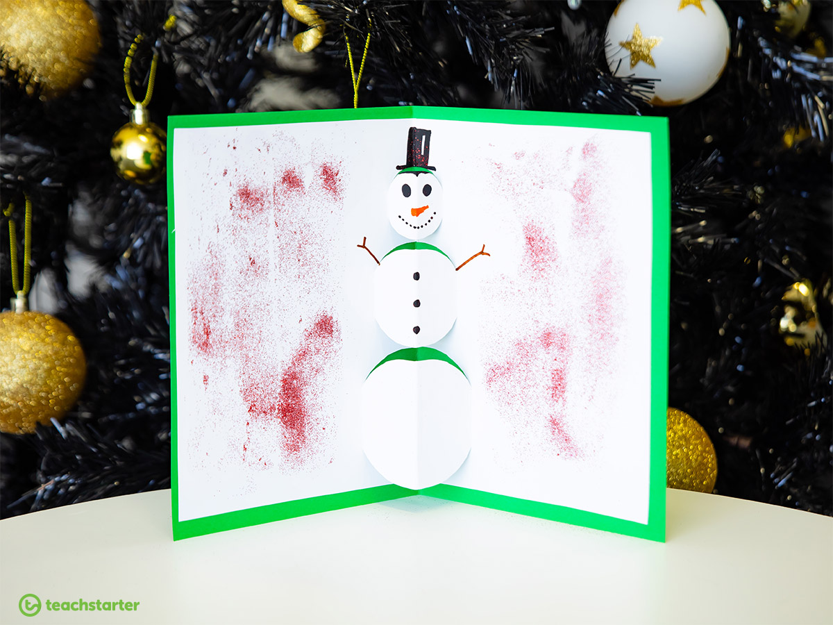 Snowman Christmas Cards Ideas.5 Crafty Christmas Card Ideas For The End Of Term Teach