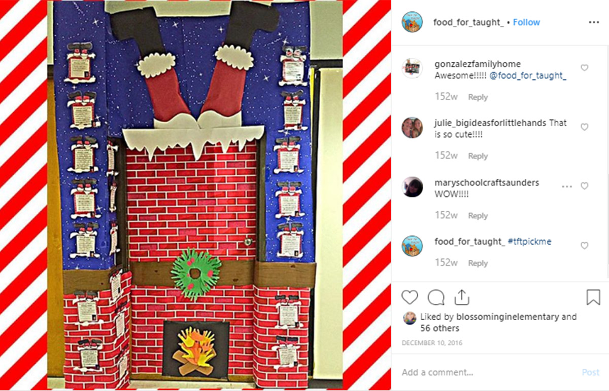 9 Christmas Door Decorations to Jingle Up Your Classroom