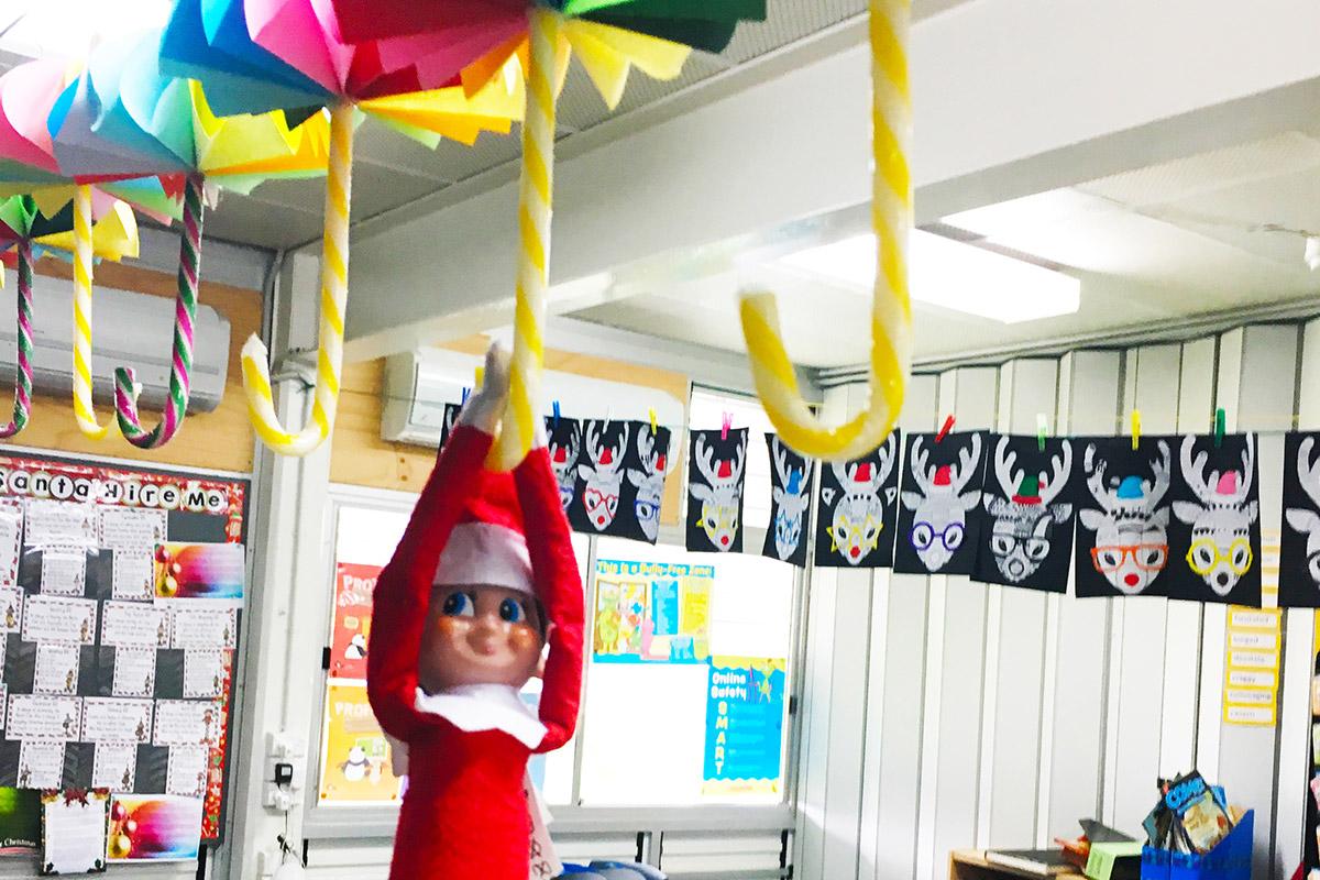Elf on The Shelf - Umbrella