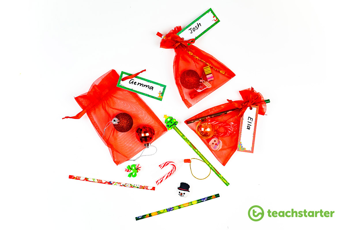 Christmas gifts for students from teacher