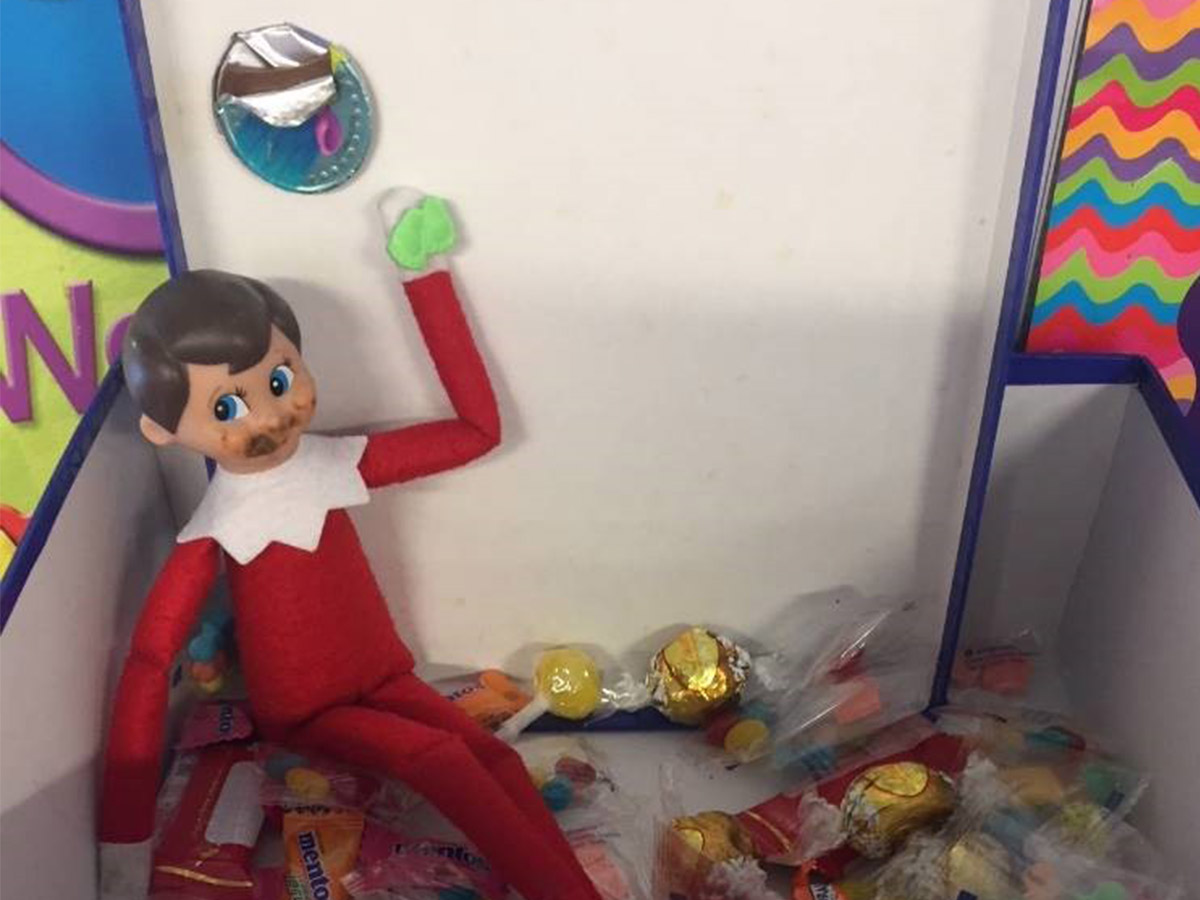 Elf on the Shelf - in the Prize Box