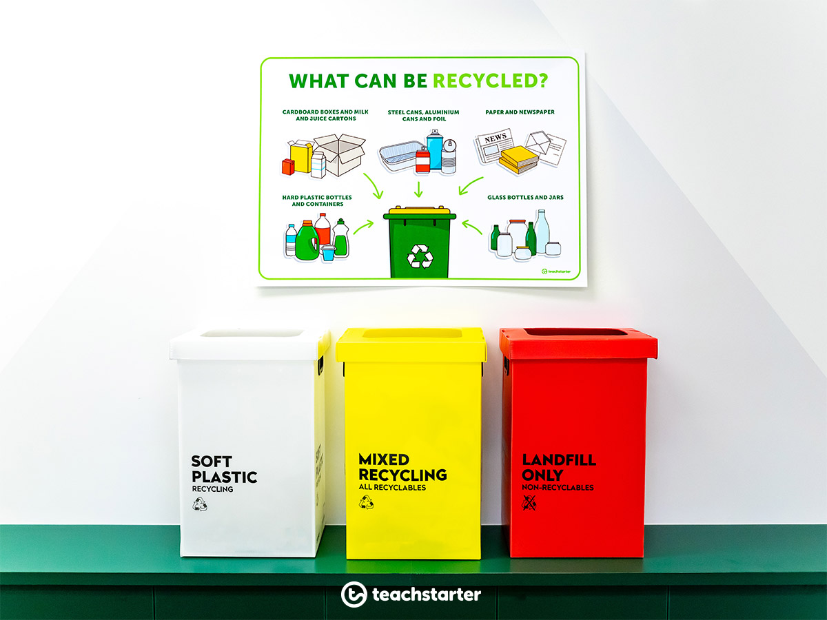 National Recycling Week activities and ideas