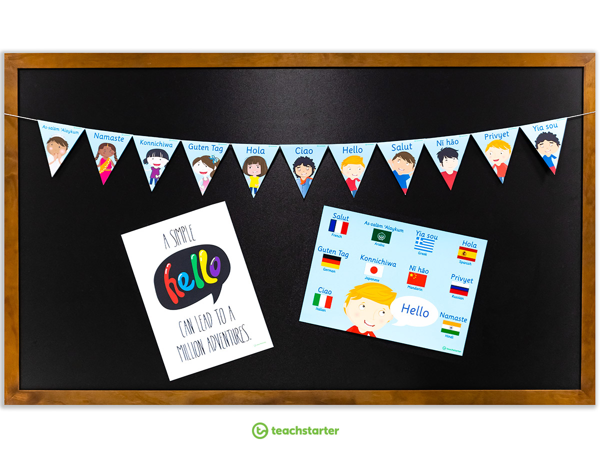World-Hello-Day-Bunting
