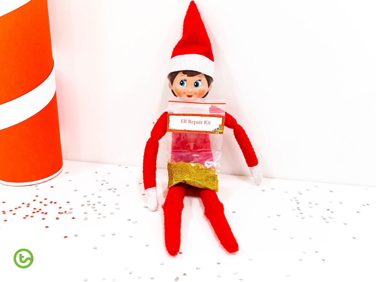 Elf on the Shelf in the Classroom - elf repair kit