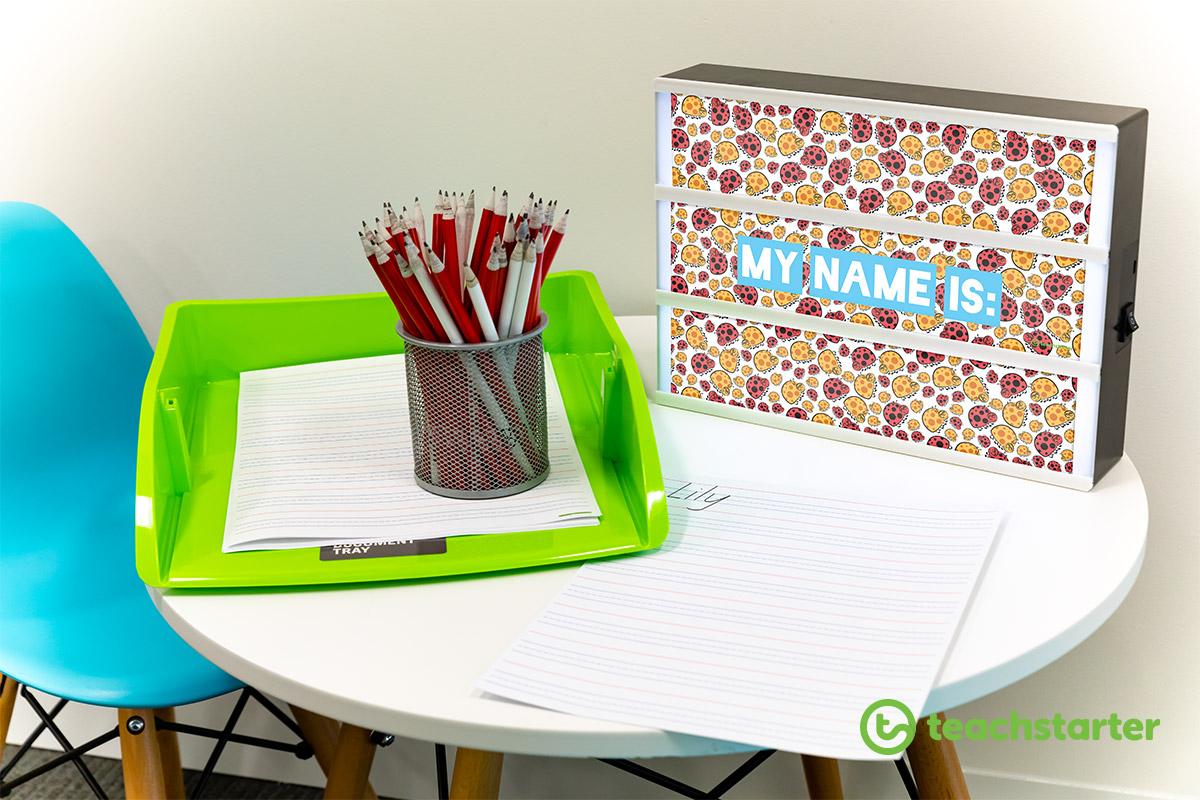 light box inserts downloadable teacher classroom