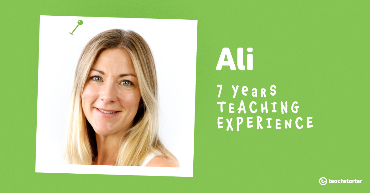 Meet the Teachers of Teach Starter - Ali