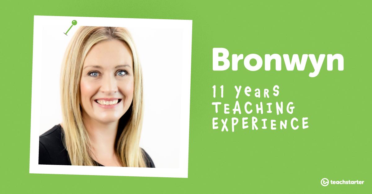 Meet the Teachers of Teach Starter - Bronwyn