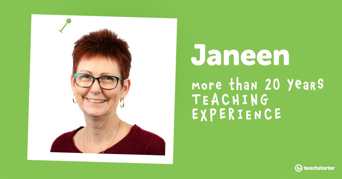 Meet the Teachers of Teach Starter - Janeen
