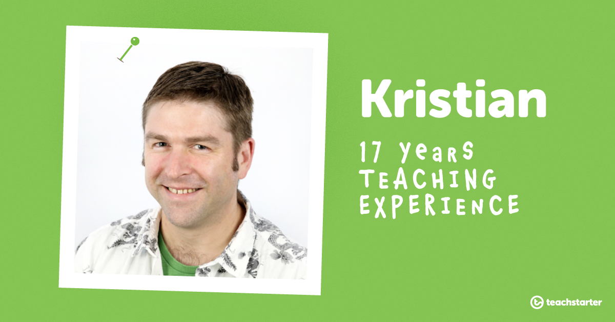 Meet the Teachers of Teach Starter - Kristian