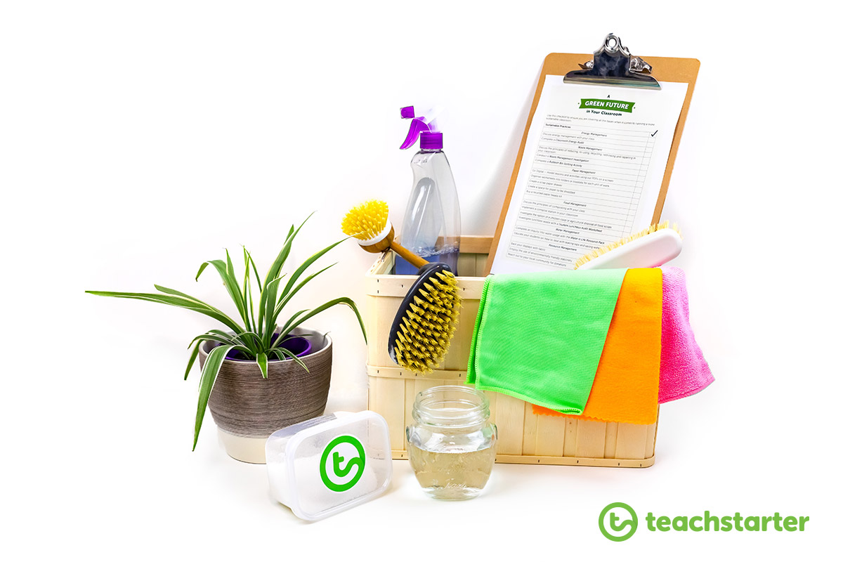 Environmentally friendly ways to clean your classroom kit green sustainable