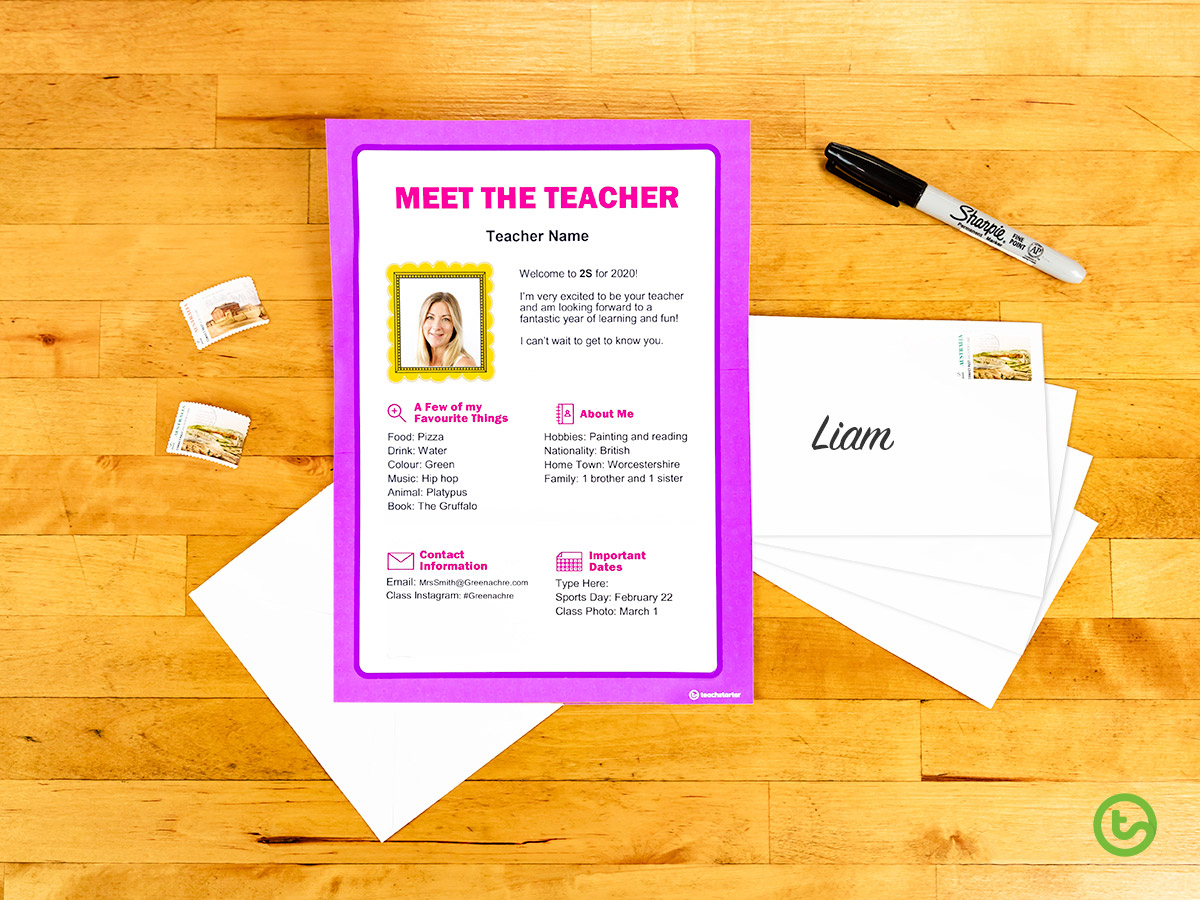 First Day of School Things to Do Now - Meet the Teacher