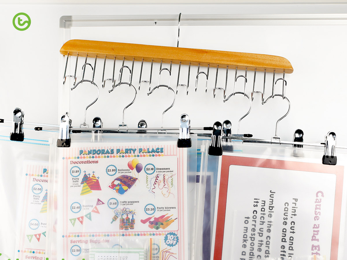 End of year organisation - hanging resources