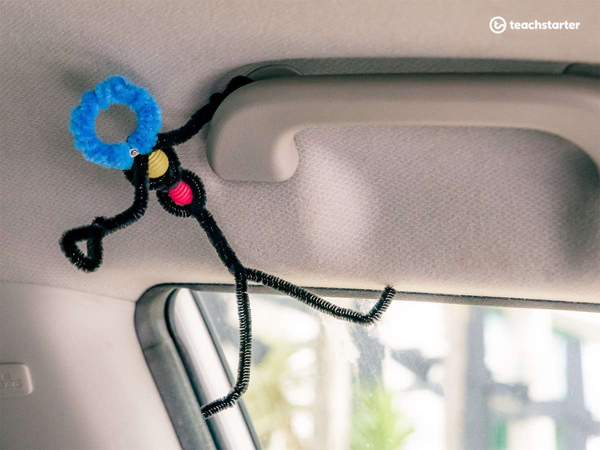 Road Trip Activities - Pipe Cleaner People
