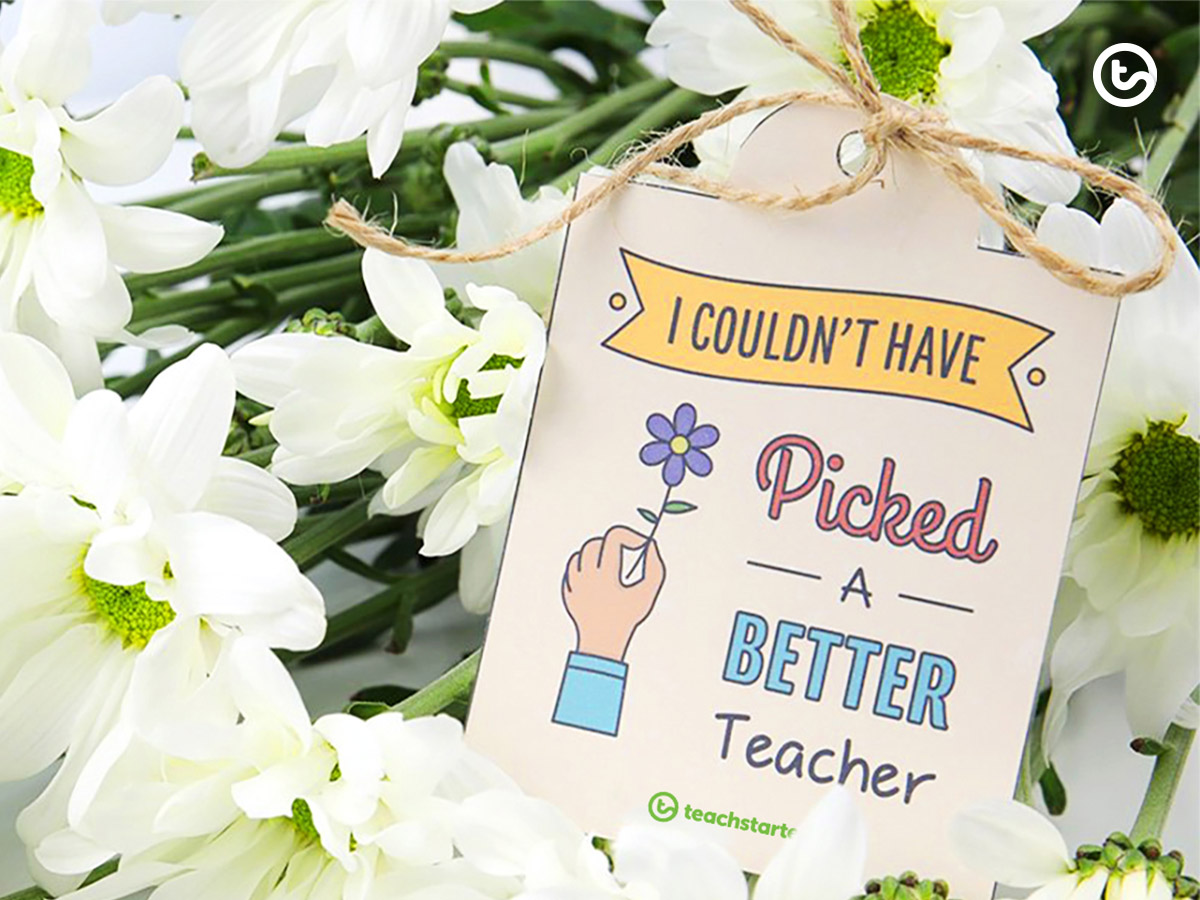 End of year organisation - teacher gifts