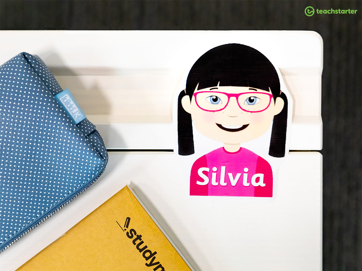 15 Inventive Desk Nameplate Ideas | Teach Starter