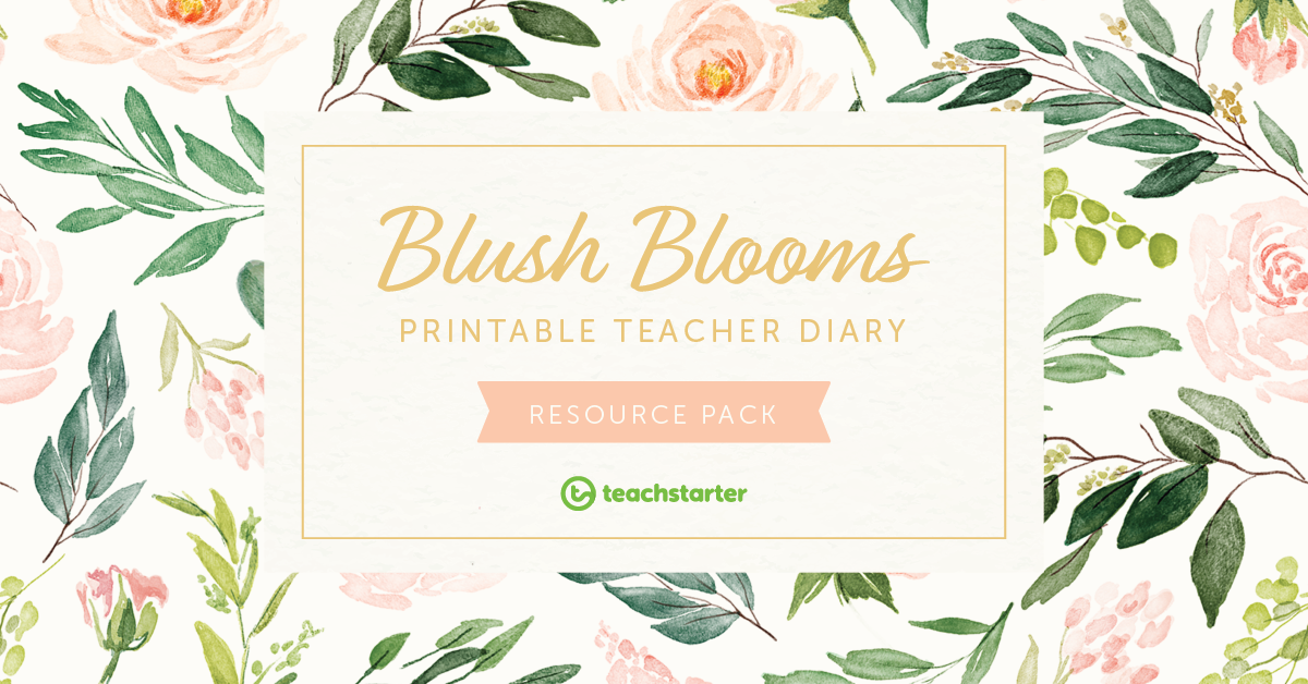 How to put together a teacher planner