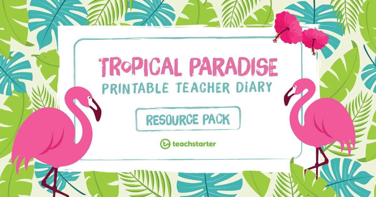Printable teacher planner templates