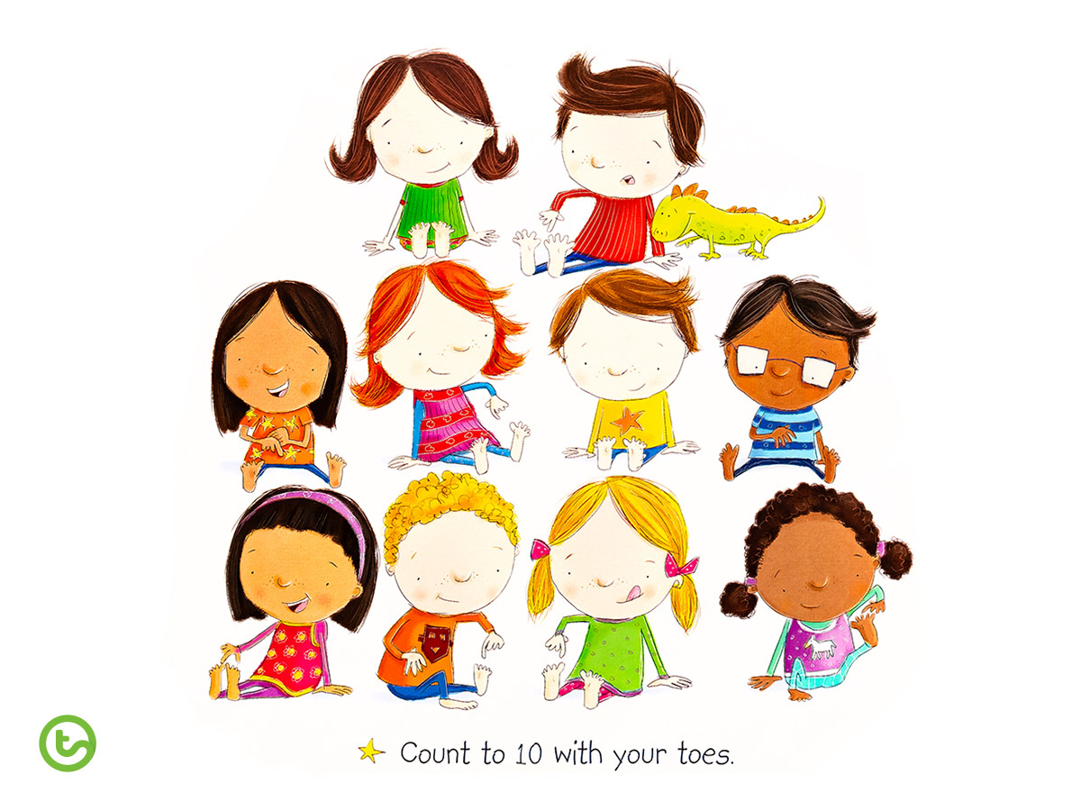 Back to School Book Read Count to Ten