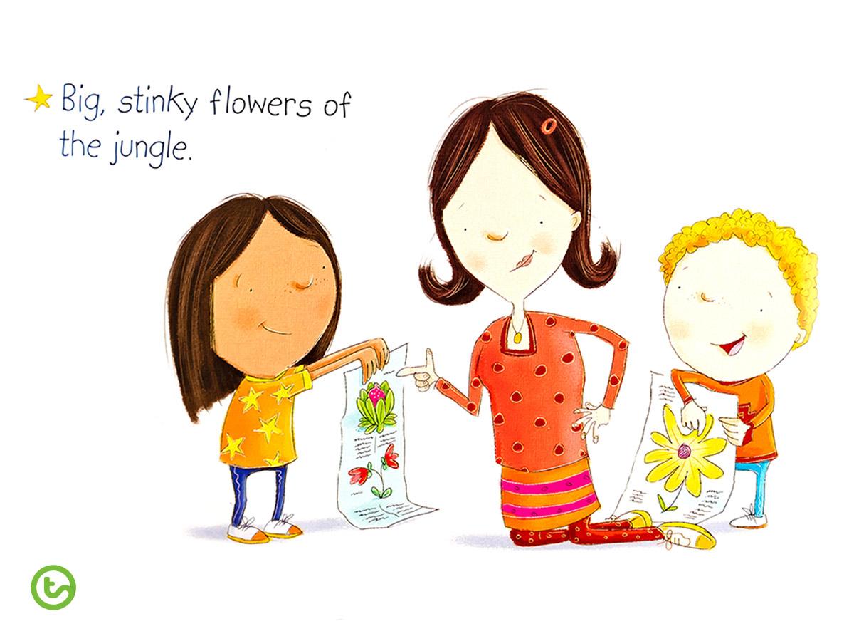 Back to School Book Big Stinky Flowers