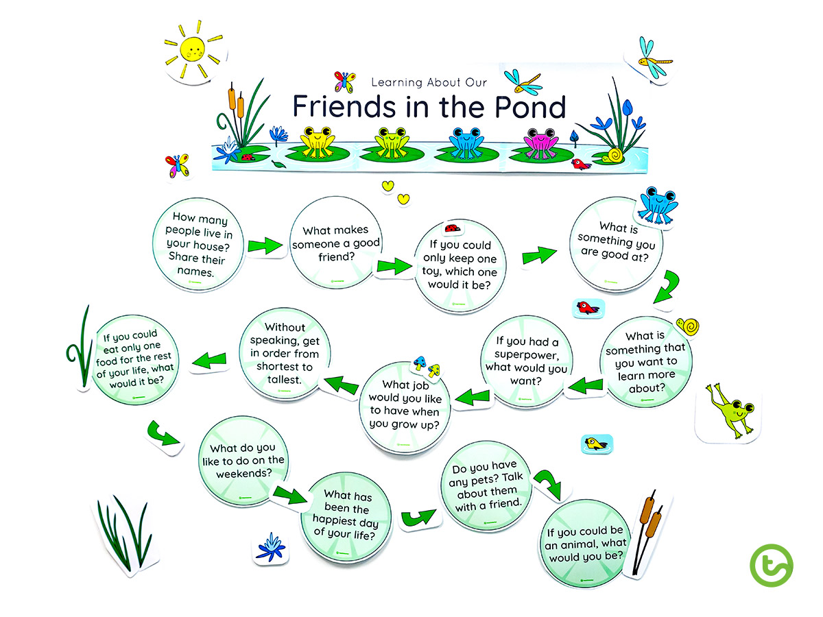 Interactive Ice Breakers for Kids - lower years