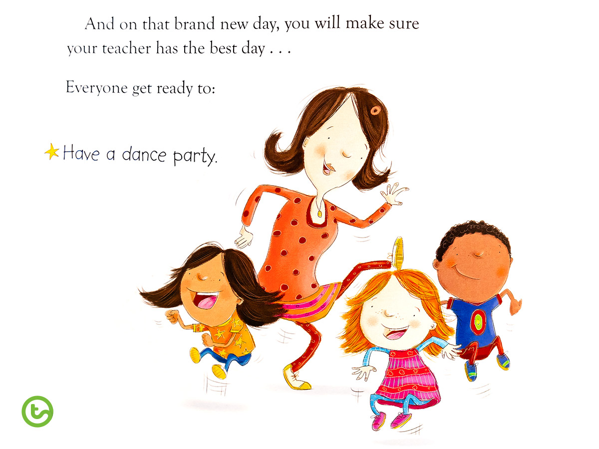 Back to School Book Have a Dance Party