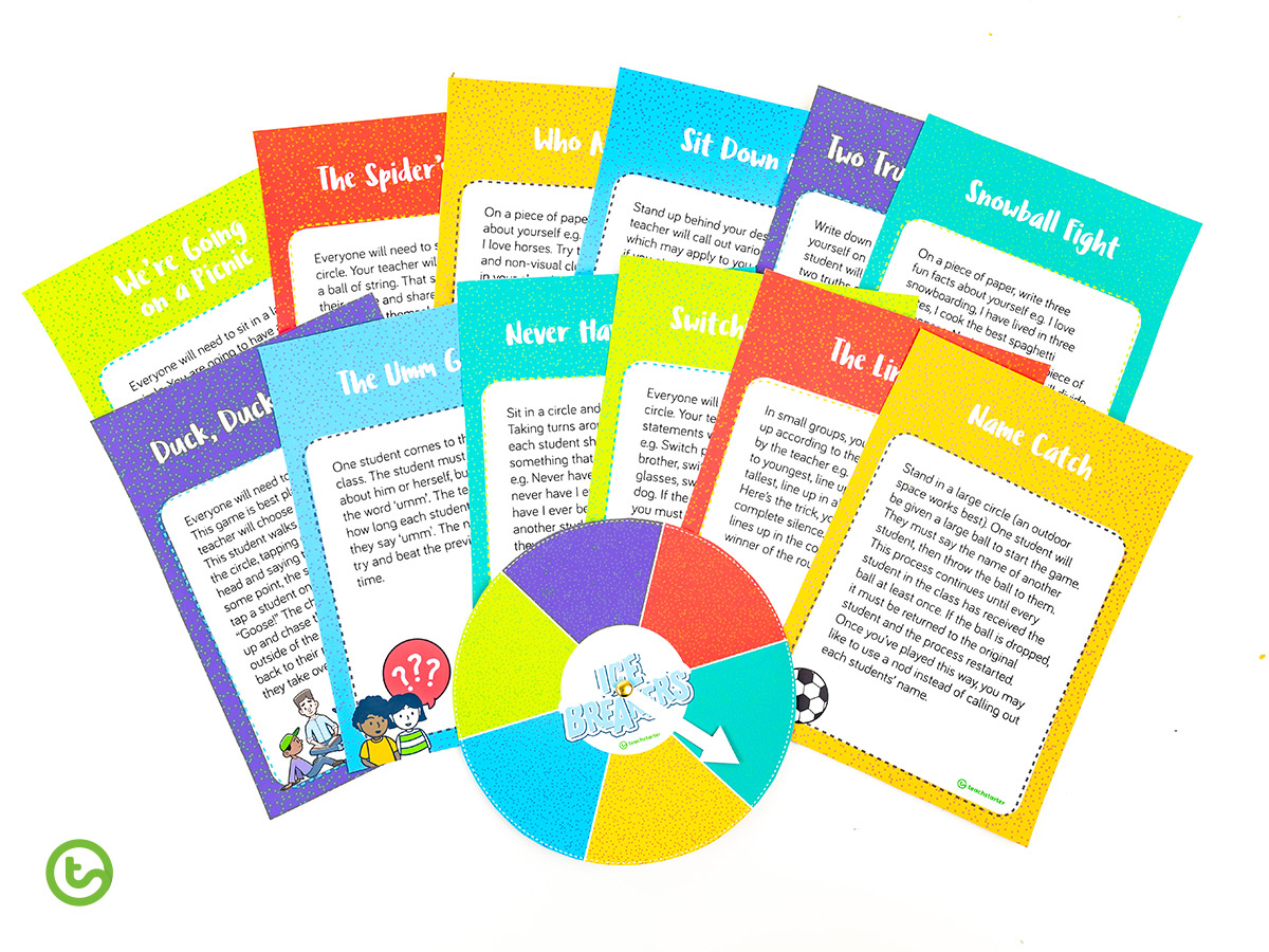 Interactive Ice Breakers for Kids - upper years