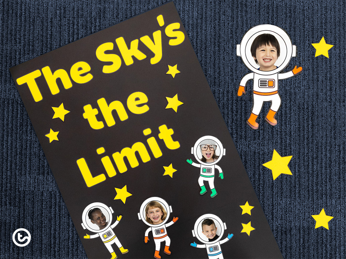 Classroom Door Displays - the Sky's the limit