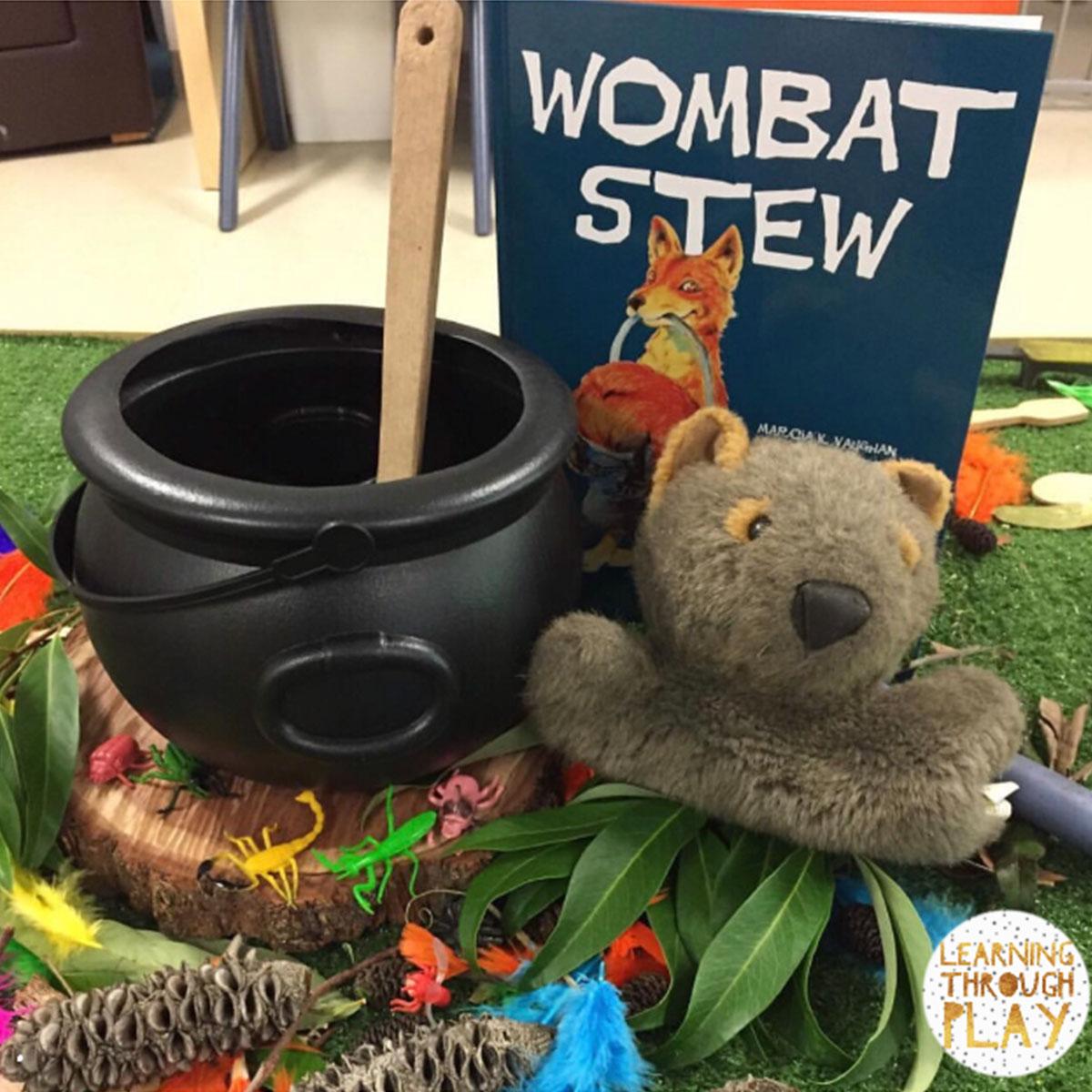 Wombat Stew to Teach Procedure Texts to Children