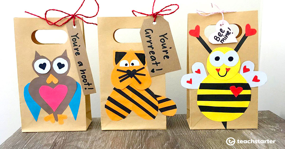 11 Valentine's Day Activities Your Class Will Love - Gift Bags