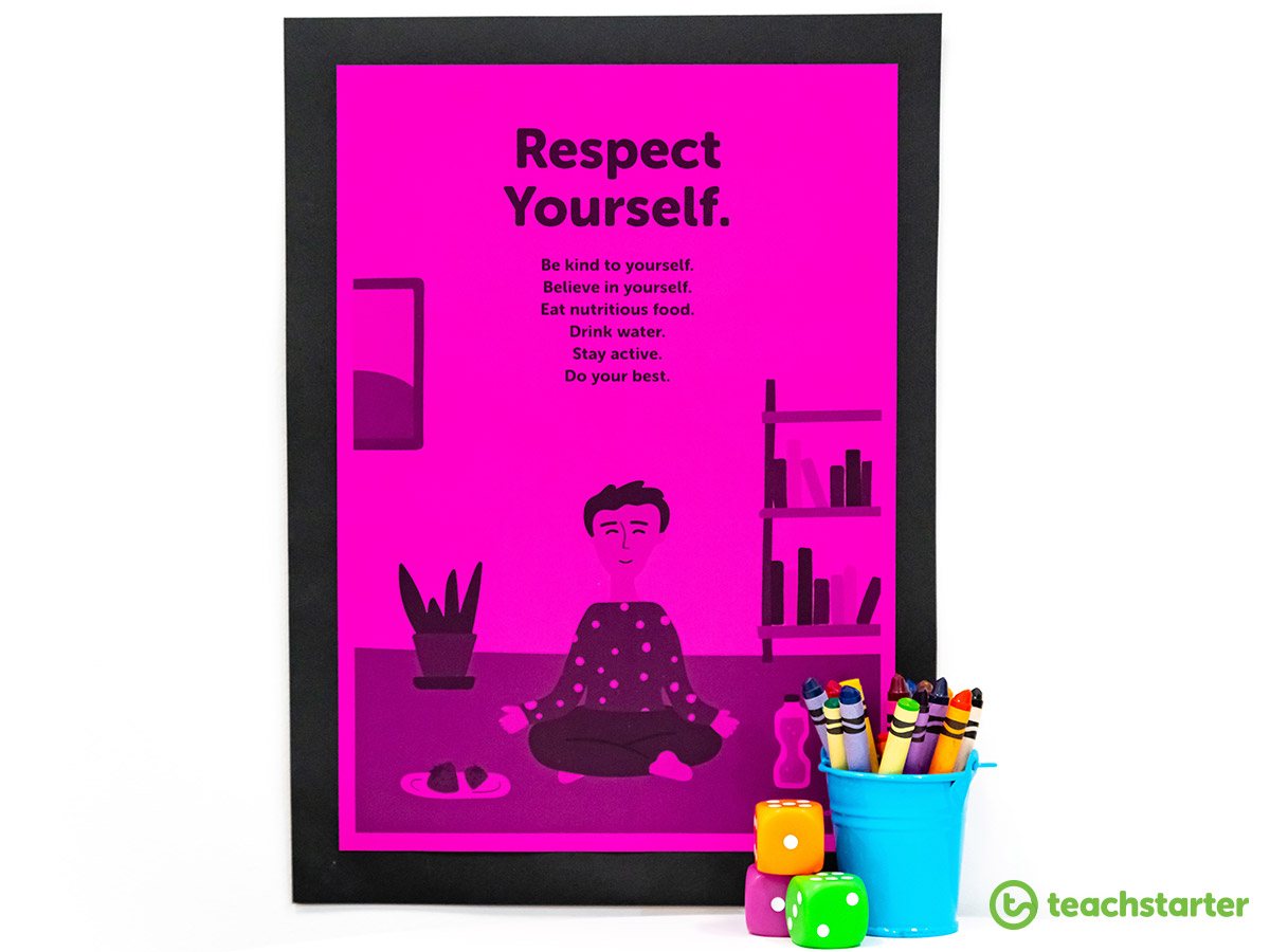 Respect Yourself Poster for the Classroom