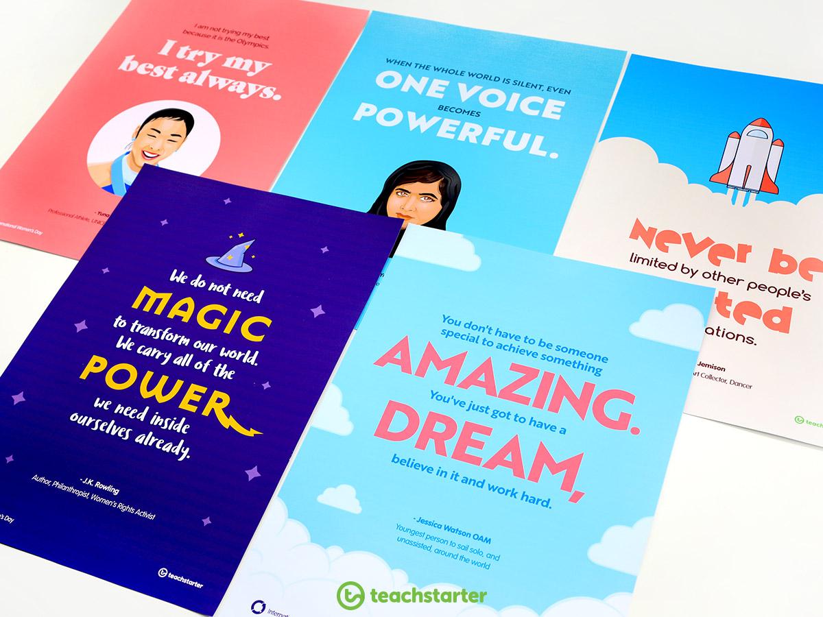 International Women's Day - Inspirational Women Poster
