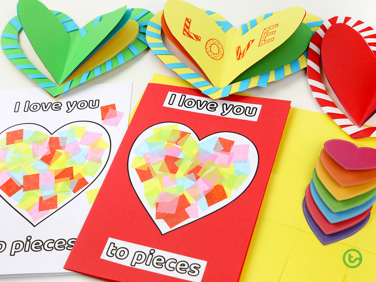 Love You to Pieces - Valentine's Day Activities