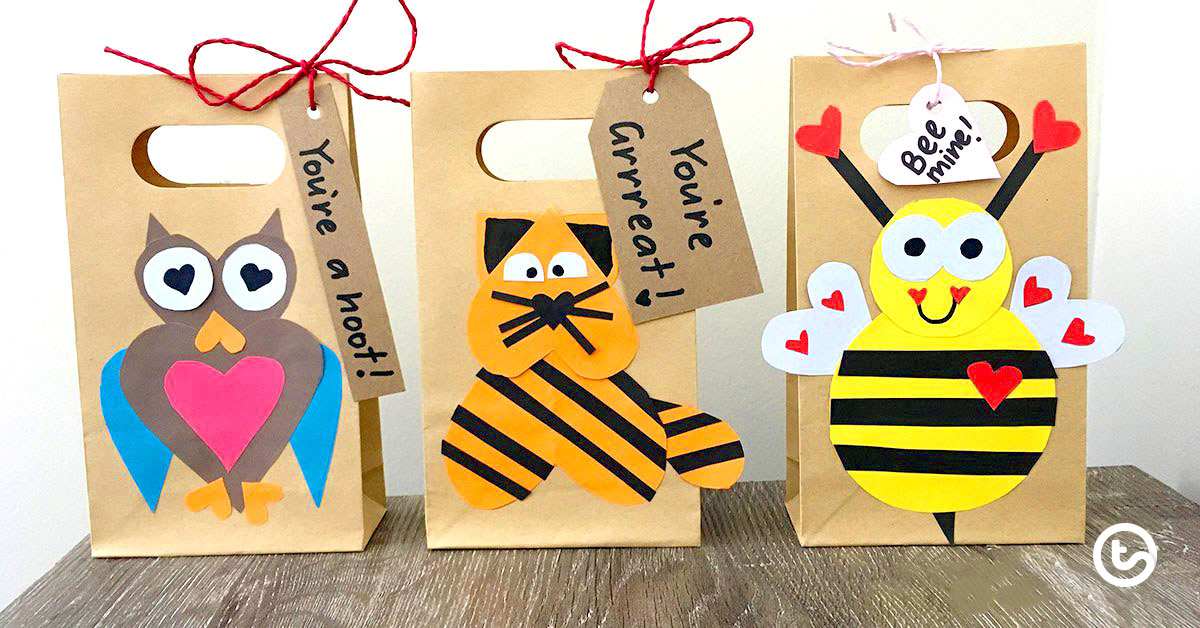 Be Mine Gift Bags - Valentine's Day