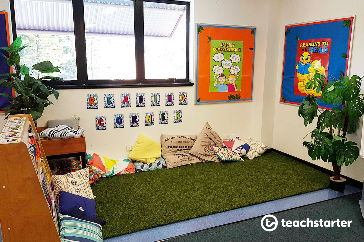 Reading Corner Ideas for Lower and Upper Years Classrooms Ideas Mary Poppins