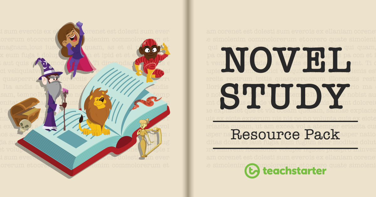 Novel Study Activity Resource Pack