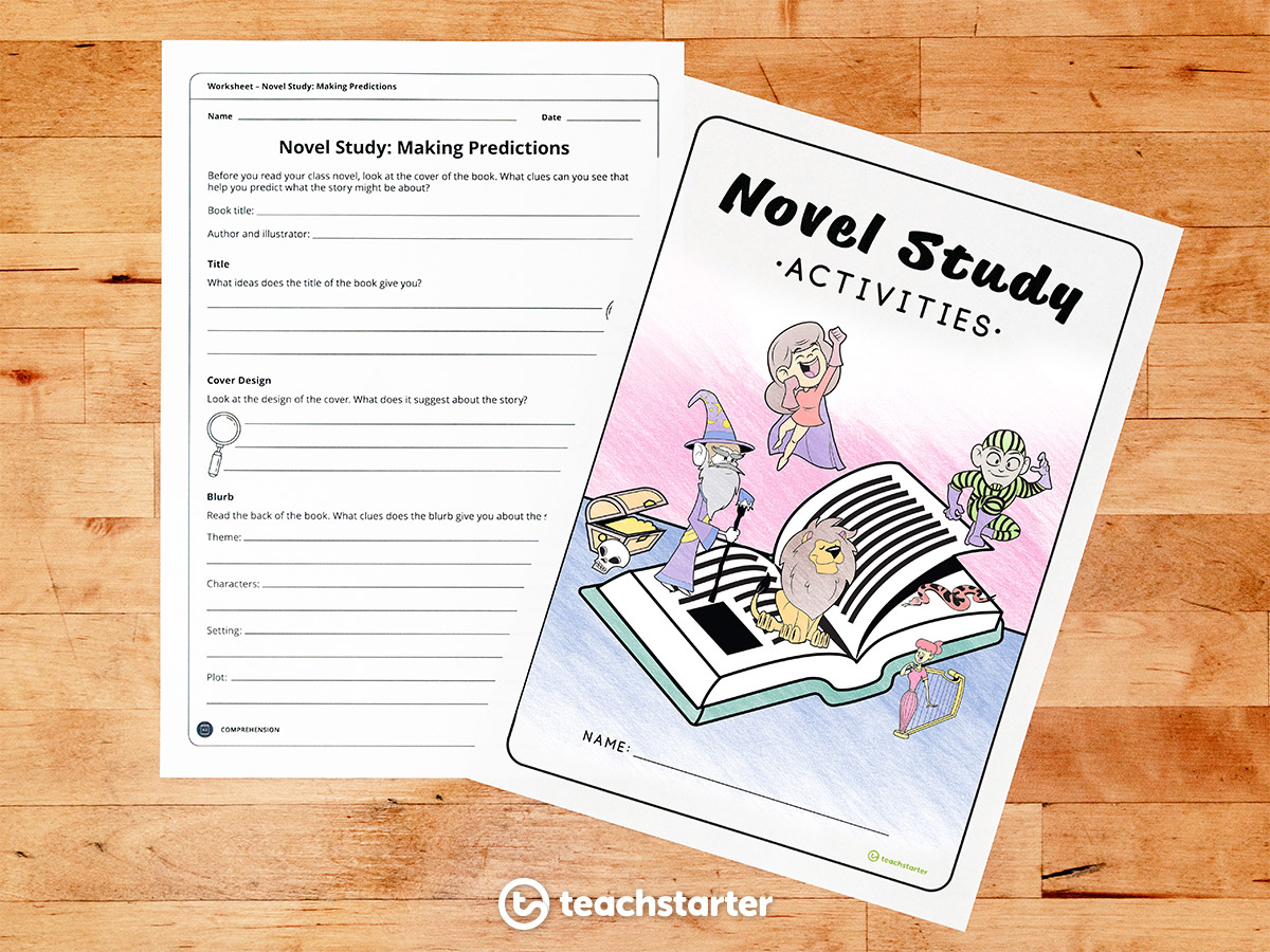 Before You Read - Novel Study Activities