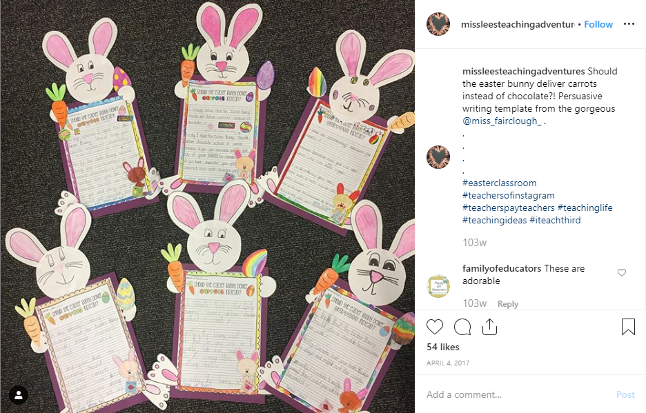 Easter Inspiration for the Classroom