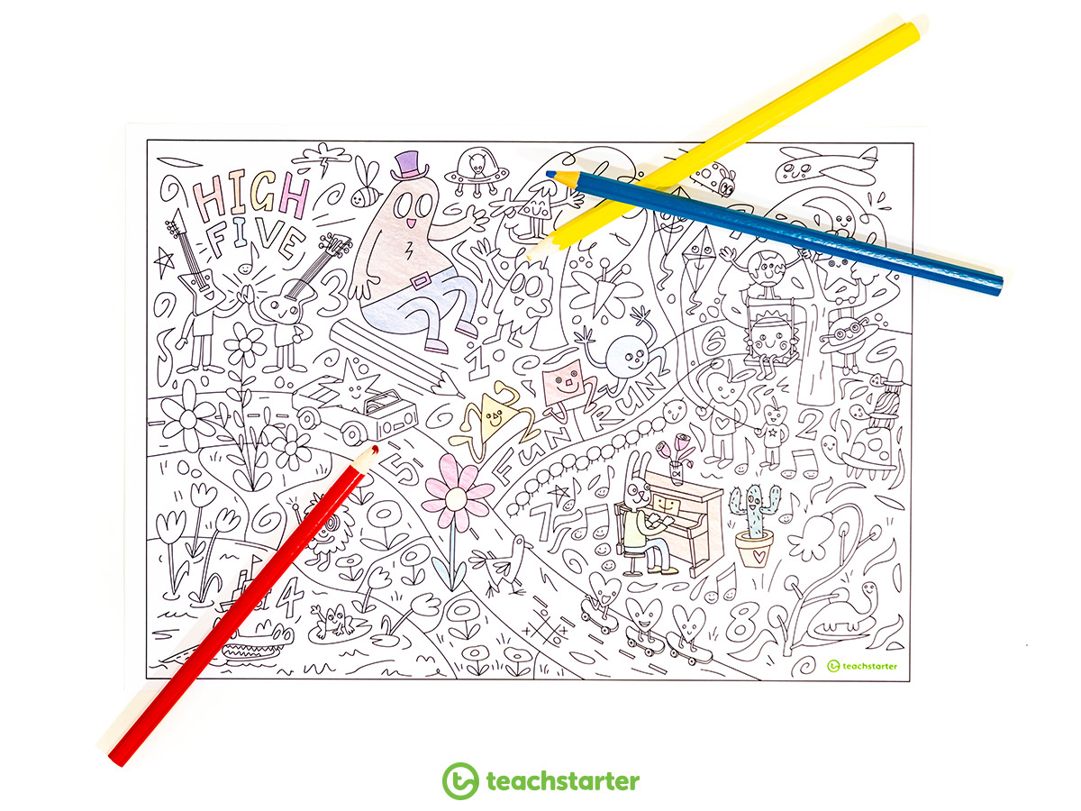 Giant Colouring Sheet