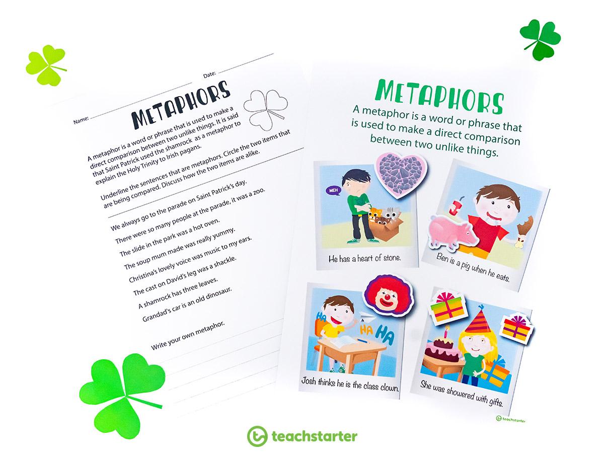 St-Patrick's-Day-Metaphor-Activity