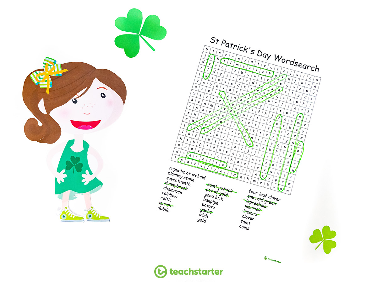 St-Patrick's-Day-Wordsearch