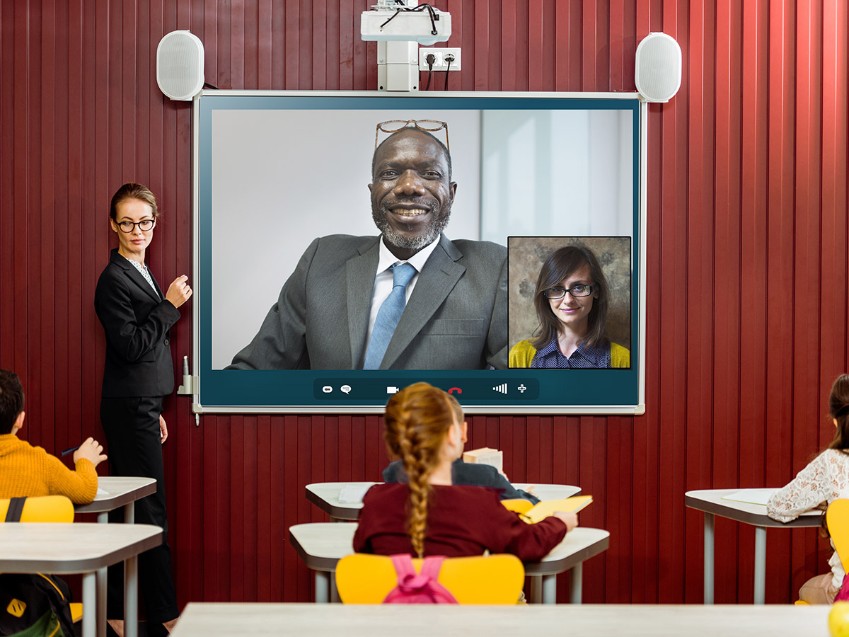 Teaching with Technology - Virtual Guest Speaker