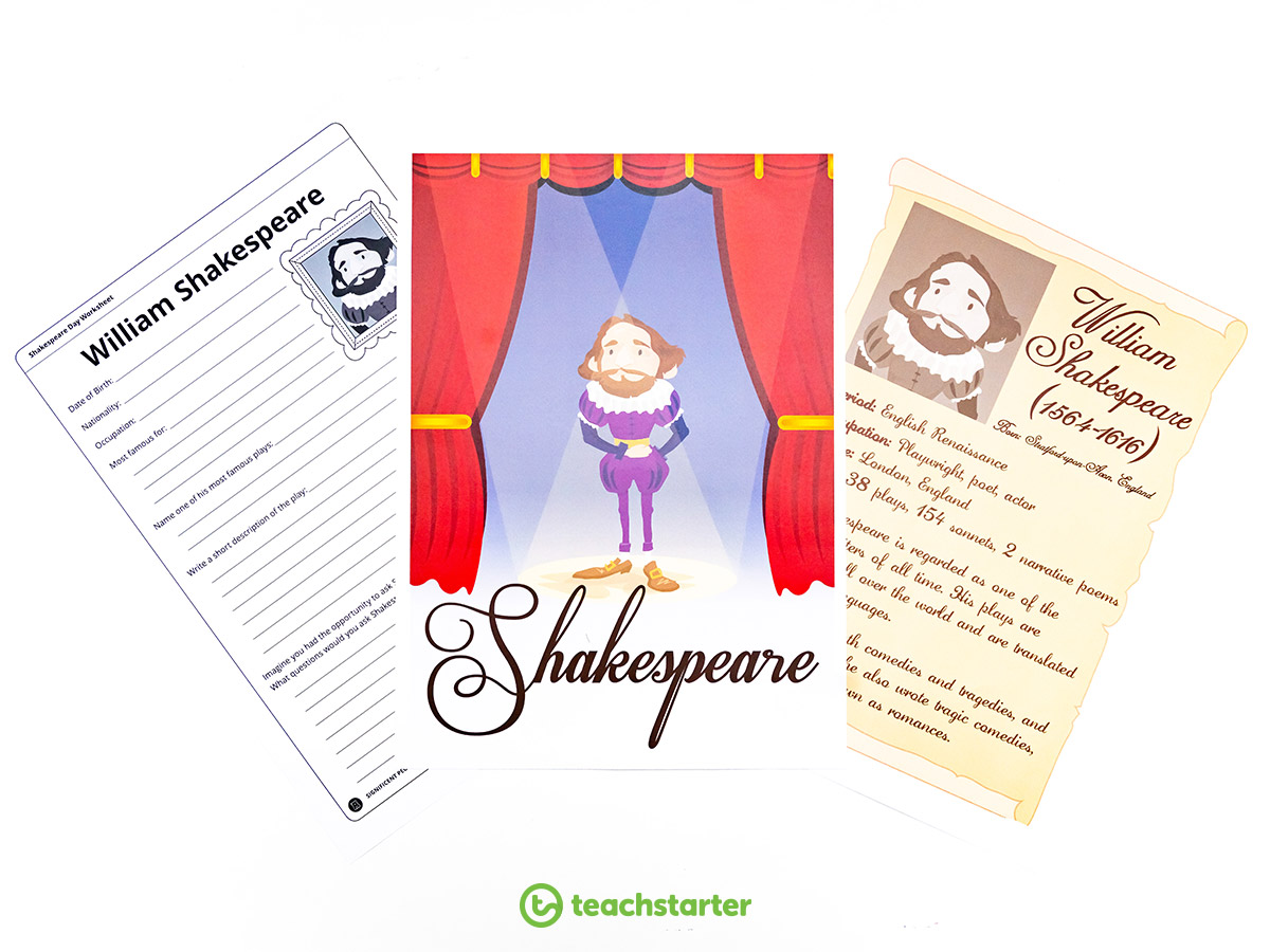 William Shakespeare Research Task