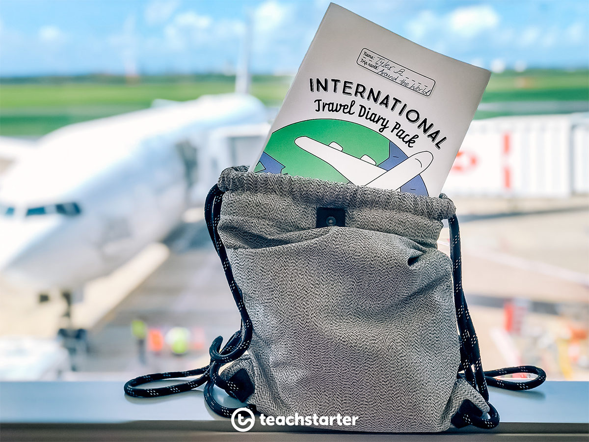 International Travel Diary Pack Holiday Project