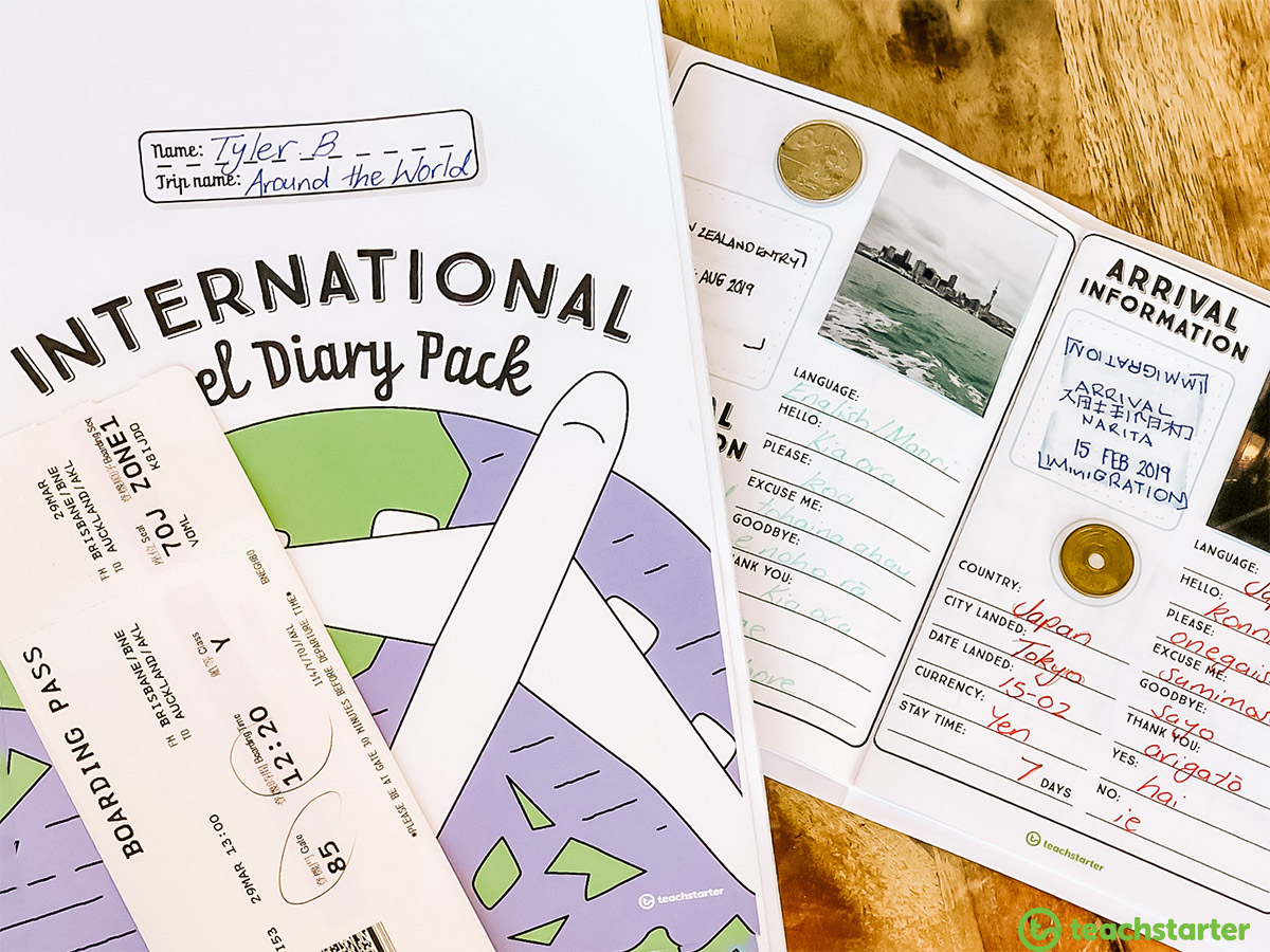 International Diary Pack Holiday Project