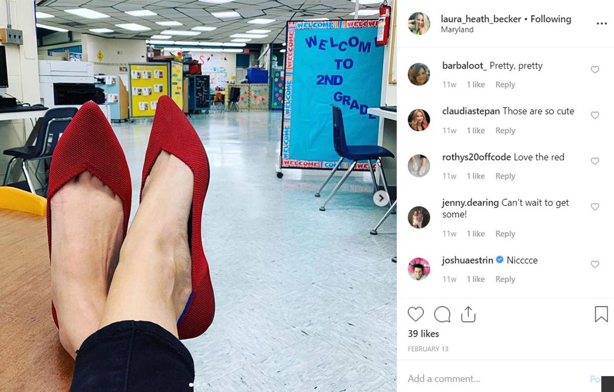 Comfortable teacher shoes