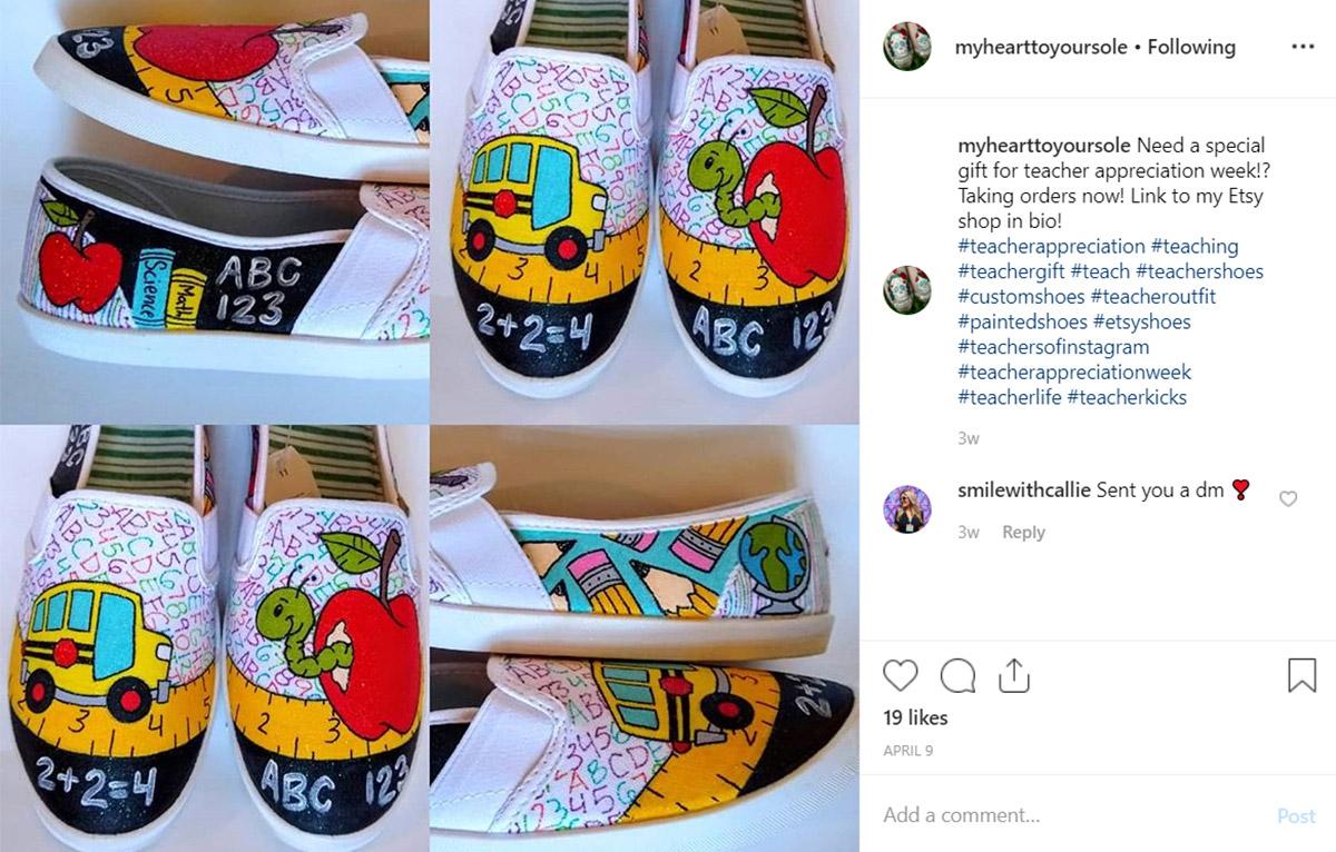 Teacher Shoe Goals