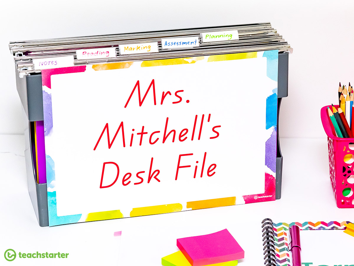 How to manage paperwork as a teacher