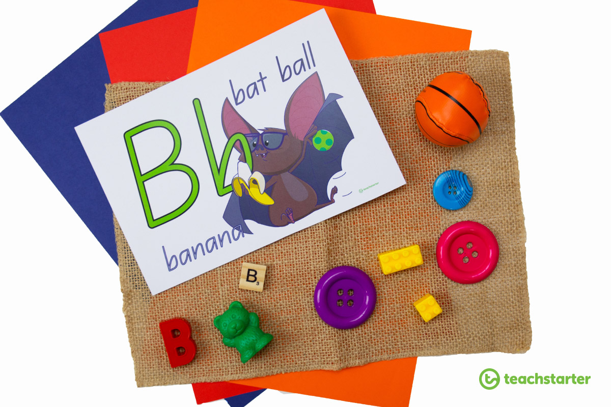 Letter activity idea for the classroom