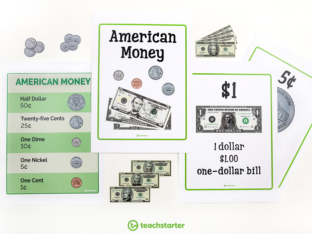 Teaching Money and Financial Mathematics - Create a classroom display