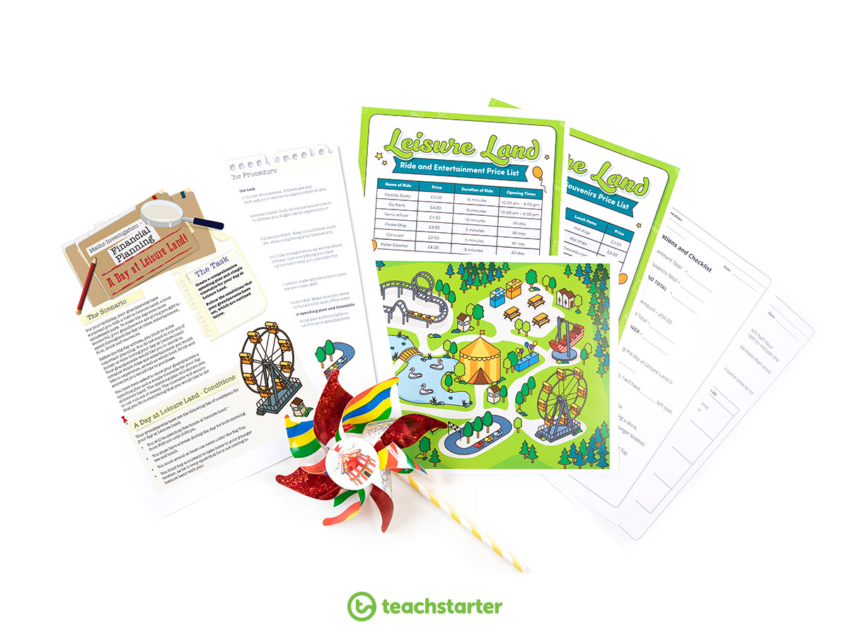 Money and Financial Mathematics - Complete a Maths Investigation with your Class!